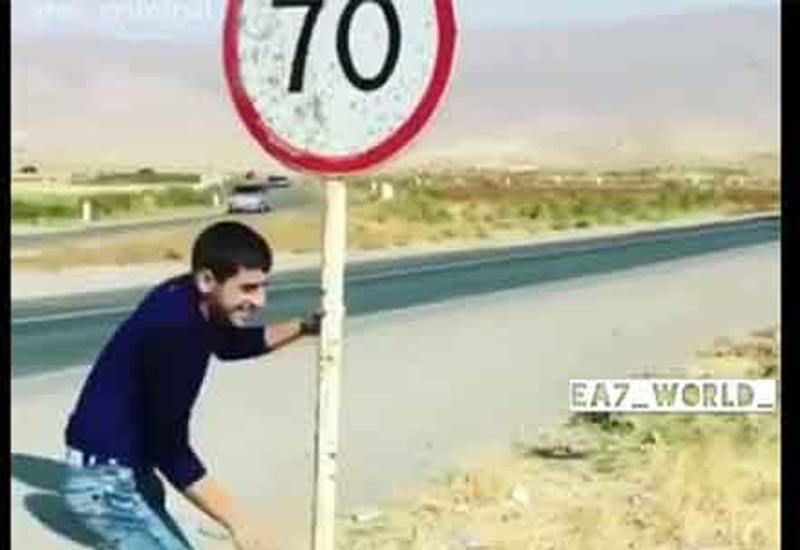Пользователи Сети осуждает гнусный поступок армянина у дороги