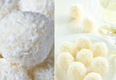 Печенье «Снежки» в кокосовой стружке - Пошаговый рецепт