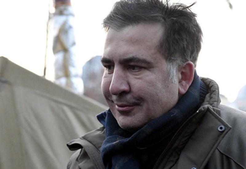 Сторонники Саакашвили митингуют в поддержку политика возле суда в Киеве
