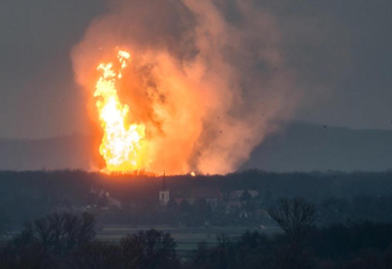Взрыв в Австрии: работа газового хаба Баумгартен полностью остановлена