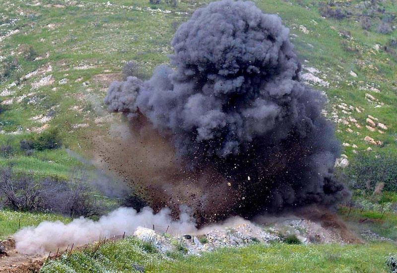 Ermənistan ordusunun daha bir əsgəri minaya düşüb