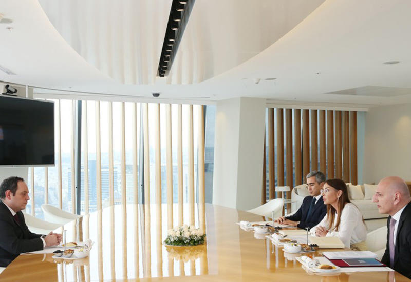 """Первый вице-президент Мехрибан Алиева: В случае избрания Азербайджана местом проведения """"Expo 2025"""", это мероприятие запомнится высокой подготовкой <span class=""""color_red"""">- ФОТО</span>"""
