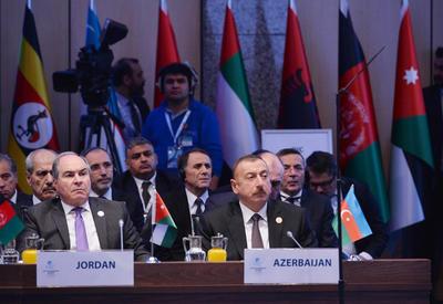 """Президент Ильхам Алиев принял участие в чрезвычайном саммите ОИС по вопросу Иерусалима <span class=""""color_red"""">- ОБНОВЛЕНО - ФОТО</span>"""