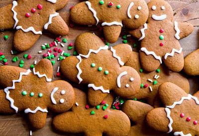 Время печь имбирное печенье