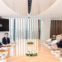 """Первый вице-президент Мехрибан Алиева: Азербайджан вносит вклад в энергетическую безопасность Европы <span class=""""color_red"""">- ФОТО</span>"""