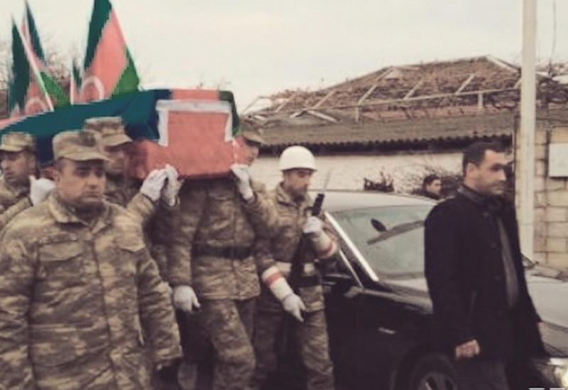 Азербайджанский шехид похоронен в Шабране