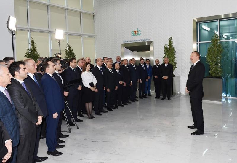 Президент Ильхам Алиев: Сумгайыт превращается в большой современный промышленный центр в мировом масштабе