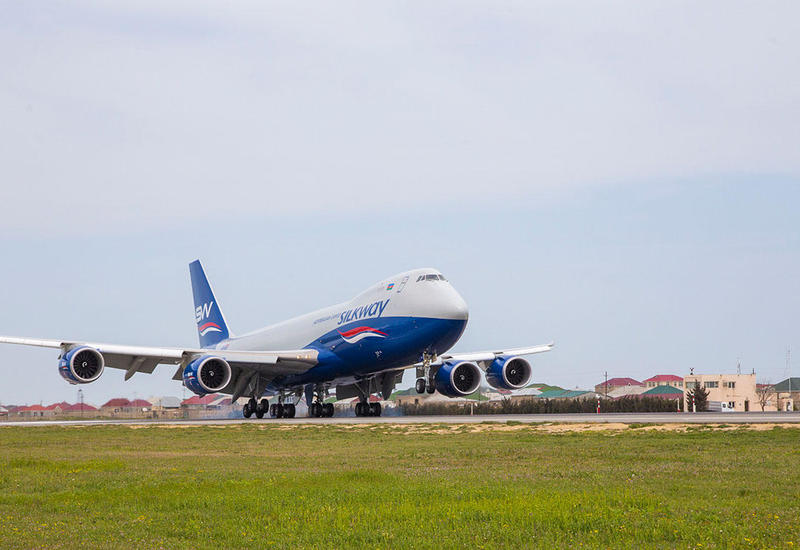 Silk Way West Airlines выполнила чартерный грузовой рейс между Азербайджаном и Бразилией