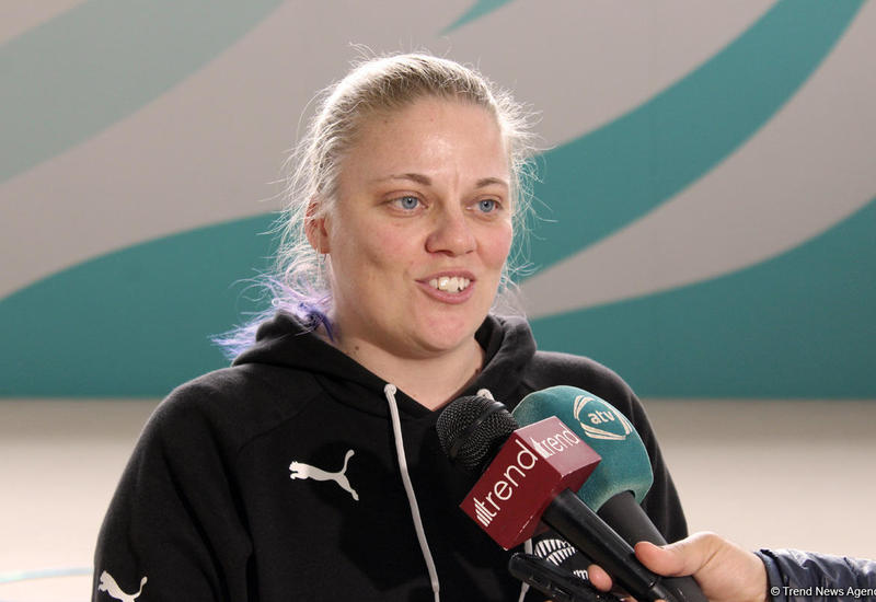 """В Новой Зеландии нет таких условий для гимнастов, как в Баку <span class=""""color_red"""">- ФОТО</span>"""