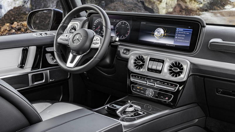 Размещен новый видеотизер джипа Mercedes G-Class 2019 года