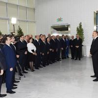 Президент Ильхам Алиев: В основе ускорения процесса индустриализации в Азербайджане лежит наша политика и вера инвесторов