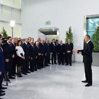 Президент Ильхам Алиев: Сумгайыт превращается в крупный современный промышленный центр в мировом масштабе