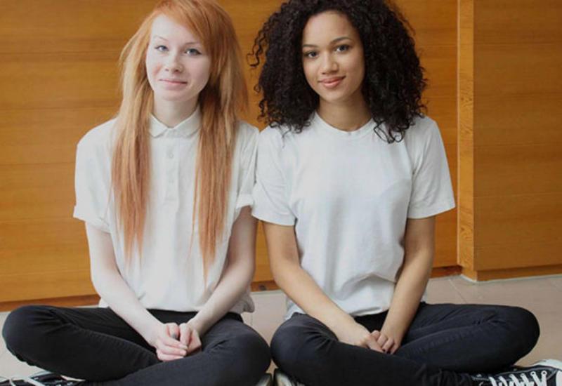 """Разноцветные сестры-двойняшки — неожиданный феномен <span class=""""color_red"""">- ФОТО</span>"""