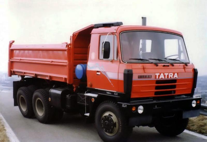 Азербайджан будет выпускать грузовики Tatra