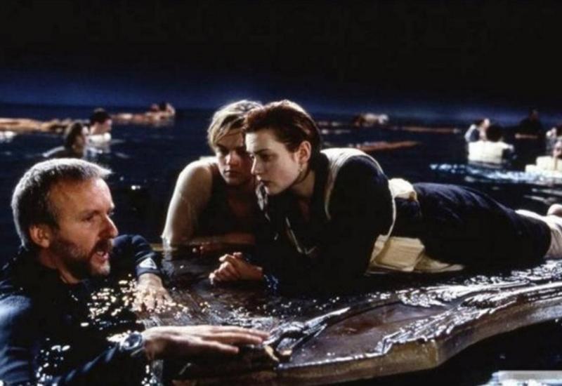 То, что осталось за кадром: 30 редких фото со съемок «Титаника»