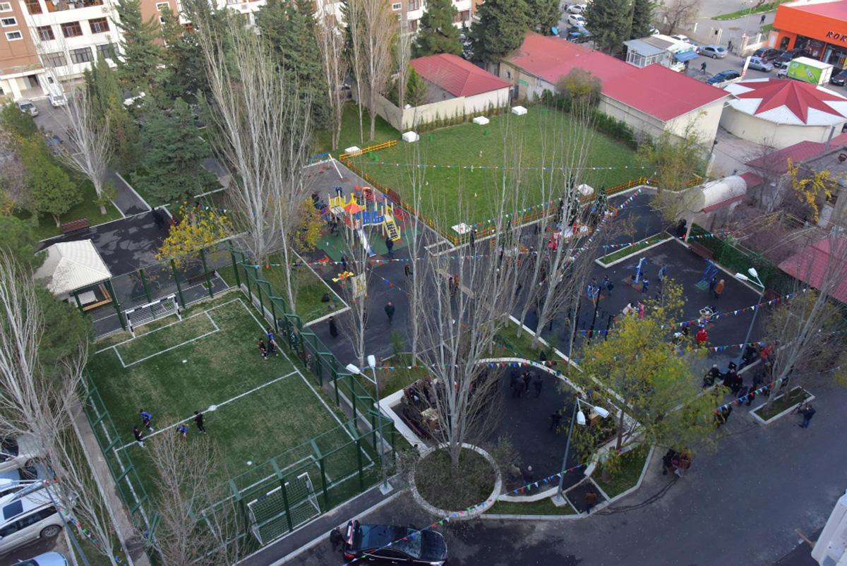 По инициативе вице-президента Фонда Гейдара Алиева Лейлы Алиевой стартовал проект «Наш двор»