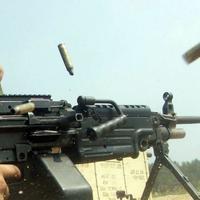 Провокация на линии фронта: армяне стреляют из пулеметов