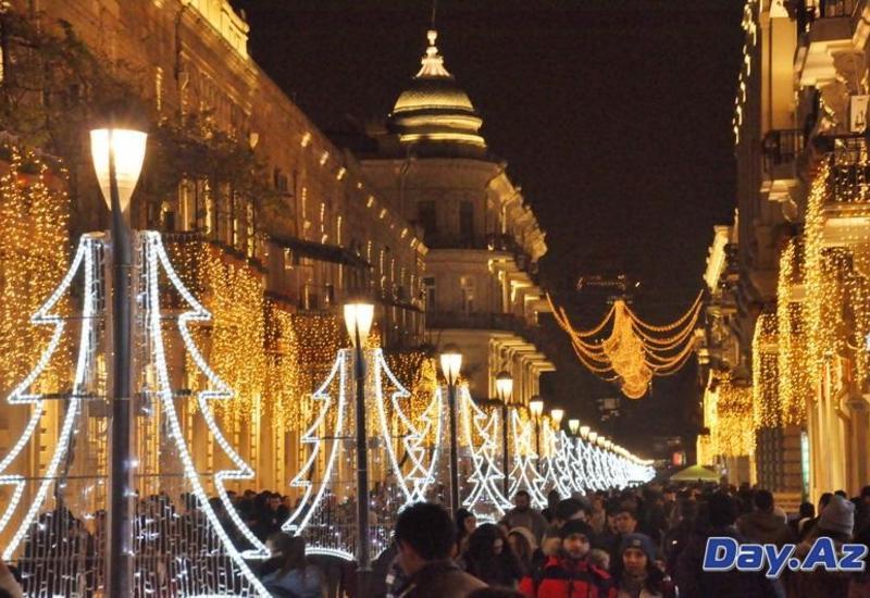 Российские туристы выбирают для встречи Нового года Баку
