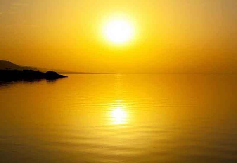 Золотой закат в Мингячевире
