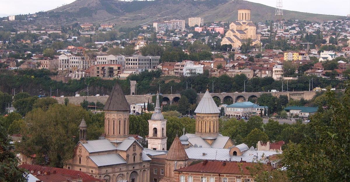 Врезиденции президента Грузии стартовала встреча президентов Армении иГрузии