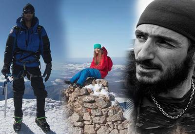 МЧС о ходе поисков пропавших азербайджанских альпинистов