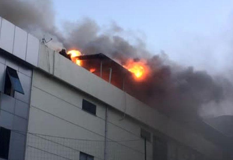 Türkiyədə tikiş fabrikində partlayış