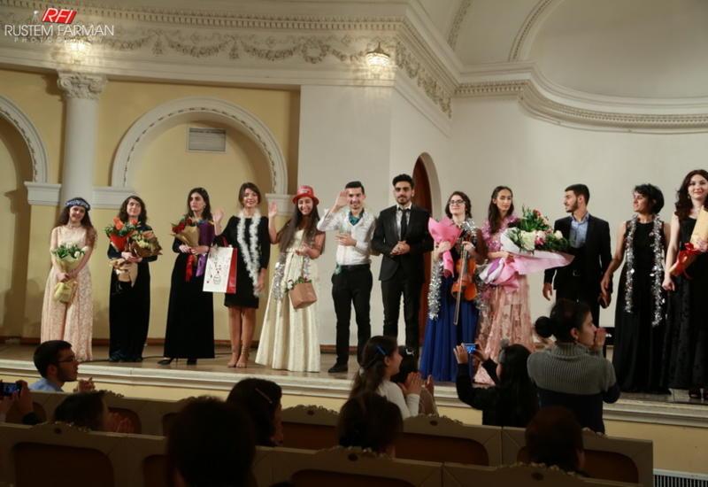 """В Филармонии состоялся праздничный концерт в рамках проекта """"Gənclərə dəstək"""""""