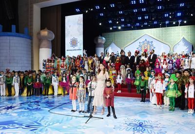 Первый вице-президент Мехрибан Алиева: 2017 год был успешным для всего народа Азербайджана