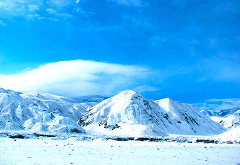 Белое безмолвие: невероятная зима в горах Азербайджана