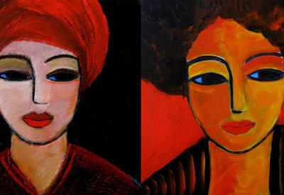 """Картинная галерея"" Day.Az: Яркие портреты <span class=""color_red"">- ФОТО</span>"