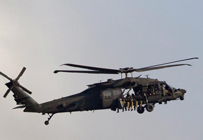 Военный вертолет США экстренно сел в Японии