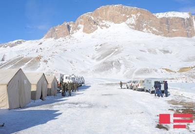 """Проведено оперативное совещание в связи с поиском азербайджанских альпинистов <span class=""""color_red"""">- ФОТО</span>"""