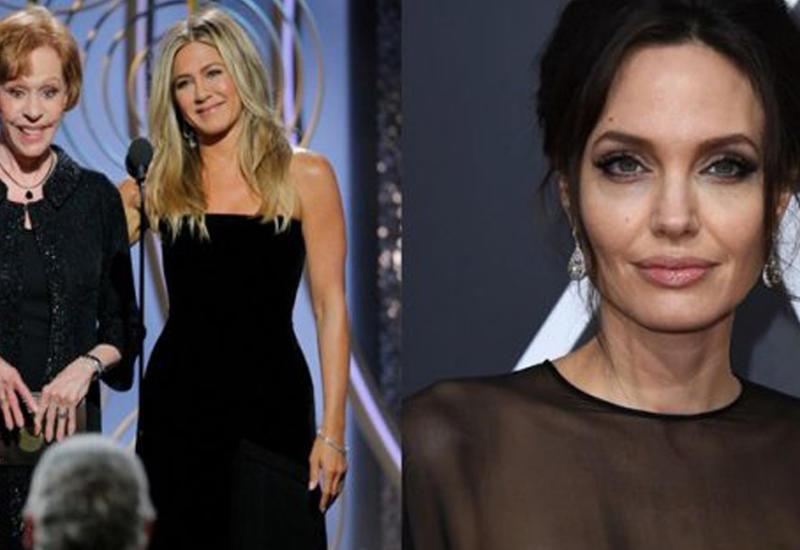 Анджелина Джоли откровенно проигнорировала речь Дженнифер Энистон