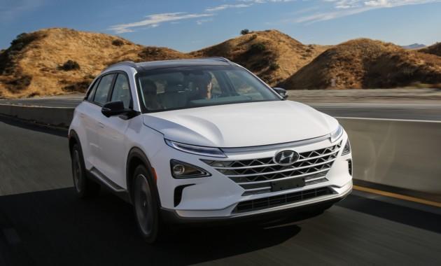 Хюндай представила вСША новый водородный автомобиль