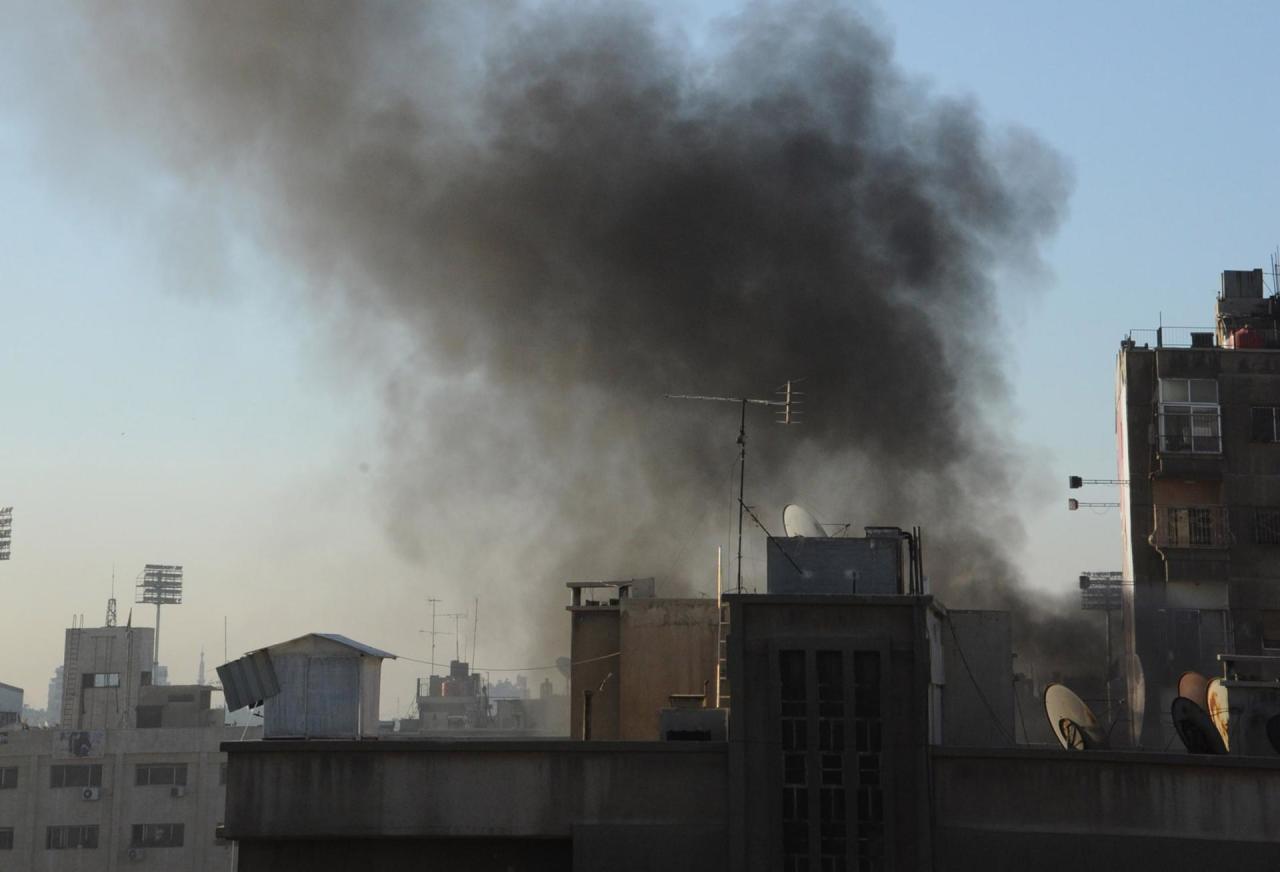 Жертвами обстрела жилого района вДамаске стали поменьшей мере 5-ти человек