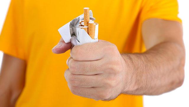 Первая выкуренная сигарета вызывает сильную зависимость отникотина— Ученые
