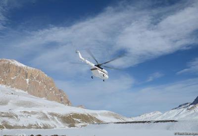 Погодные условия осложнили поиски пропавших азербайджанских альпинистов