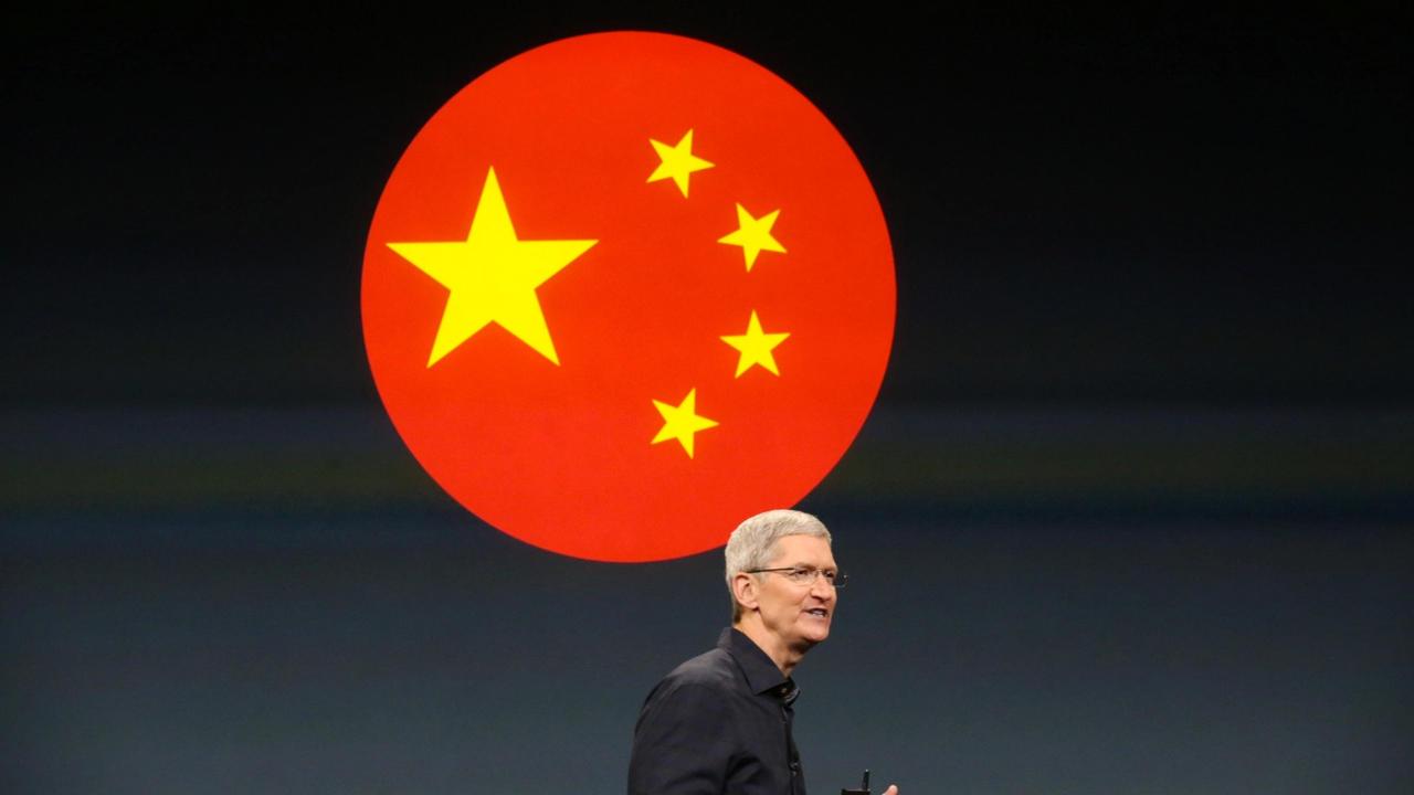 Apple передаст данные китайских пользователей властям страны