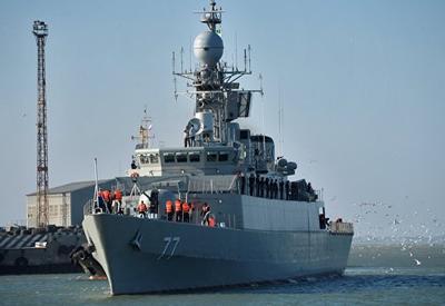 Иран назвал причину аварии с эсминцем в Каспийском море