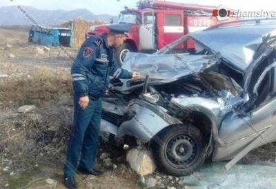 В Армении произошло ДТП с участием армейского грузовика, есть пострадавшие