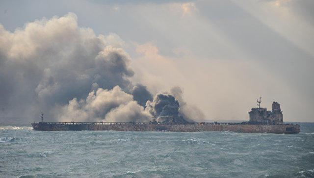 Врайоне столкновения танкера исухогруза вВосточно-Китайском море отыскали два тела