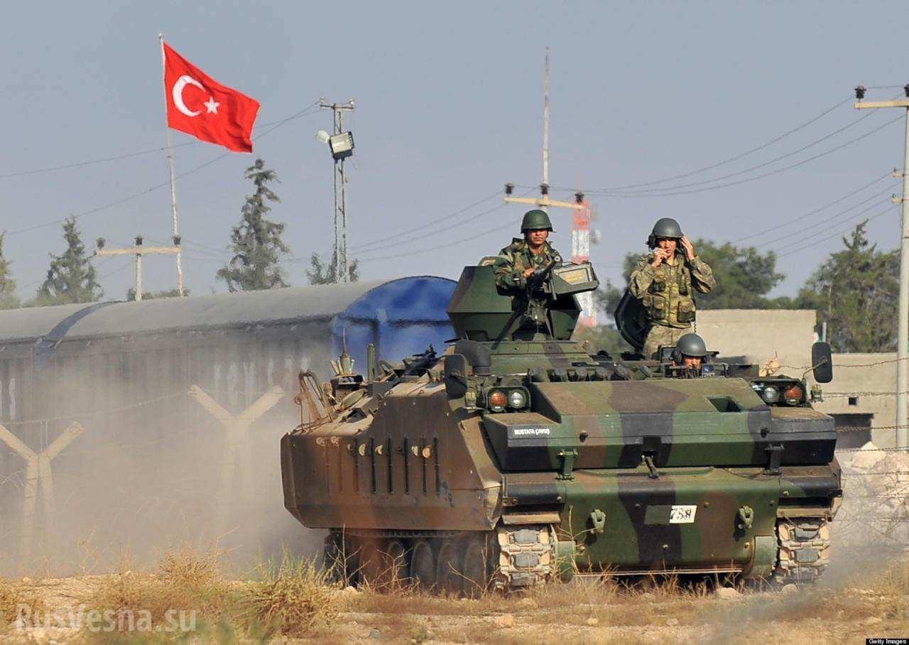 ВСТурции ударили попозициям курдов вСирии