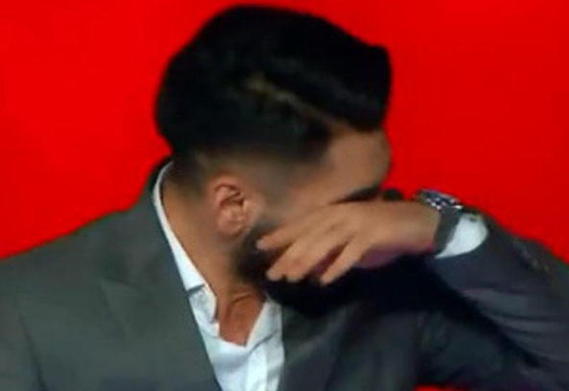 """Азербайджанец расплакался в эфире турецкого шоу <span class=""""color_red"""">- ВИДЕО</span>"""