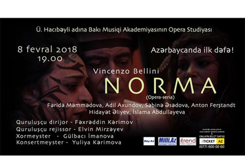 """В Баку состоится грандиозная постановка известной оперы """"Норма"""""""