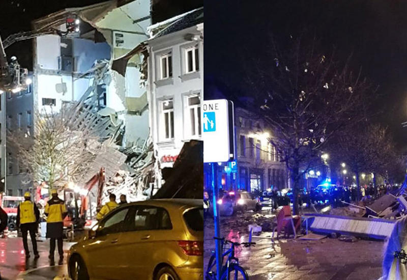 """Жилой дом взорвался в Бельгии, есть погибшие и пострадавшие <span class=""""color_red"""">- ОБНОВЛЕНО - ВИДЕО</span>"""