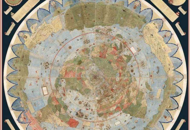 Как выглядела планета на самом старом атласе в мире