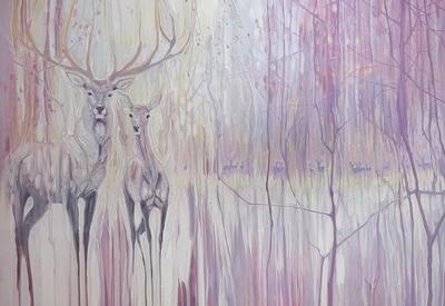 Психоделическая живопись художницы Джилл Бустаманте