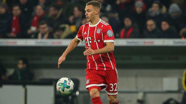 Киммих признан лучшим футболистом Германии 2017 года