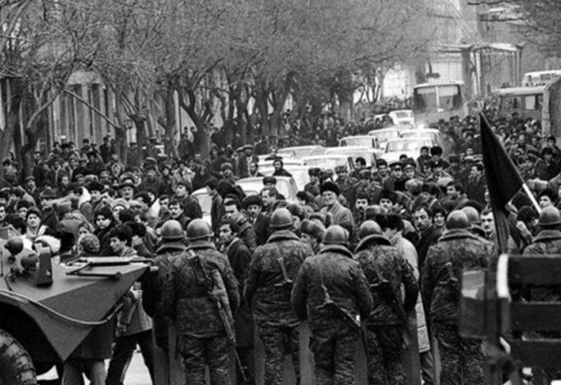 Кровавый январь в Баку стал показательным уроком всем, кто стремился к независимости
