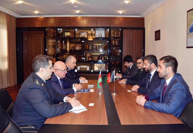 """Афганистан заинтересован в использовании транзитных возможностей Азербайджана <span class=""""color_red"""">- ФОТО</span>"""